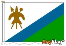 -LESOTHO OLD  ANYFLAG RANGE - VARIOUS SIZES